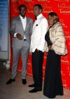 Diddy and his mom Janice Combs // Madame Tussauds in New York City