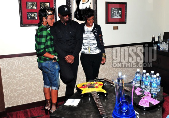 Diddy / Dirty Money at Hard Rock Cafe in Las Vegas