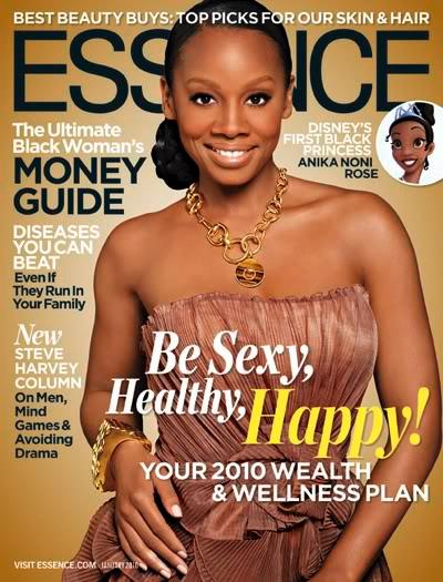 Anika Noni Rose // January 2010 Essence Magazine