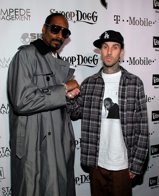 "Snoop Dogg & Travis Barker // Snoop Dogg's ""Malice N Wonderland"" Album Release Party + Famous Stars & Stripes 10th Anniversary Celebration"