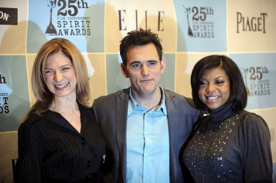 Dawn Hudson, Matt Dillon and Taraji P. Henson // 25th Film Independent Spirit Awards