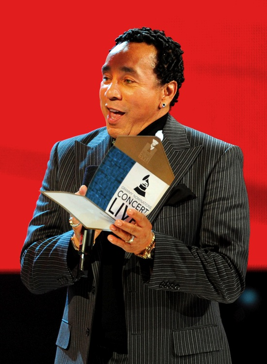 Smokey Robinson // 2010 Grammy Nominations Live! Concert