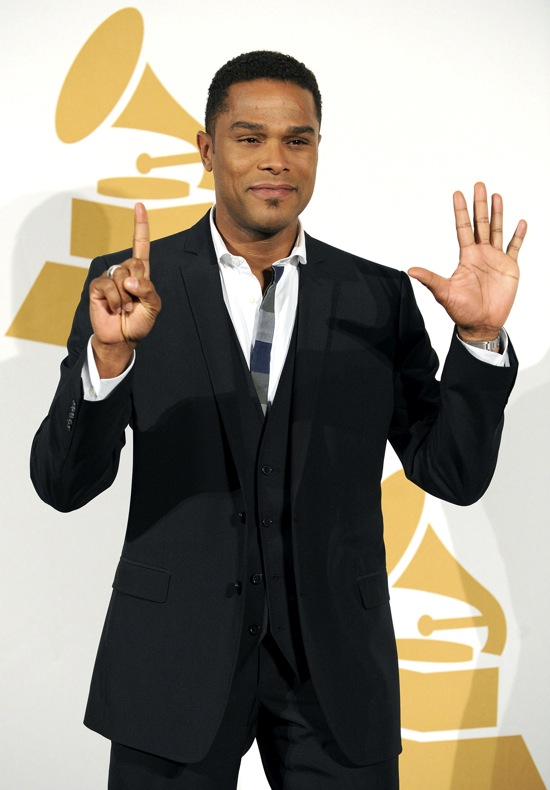 Maxwell // 2010 Grammy Music Awards Nomination Press Conference