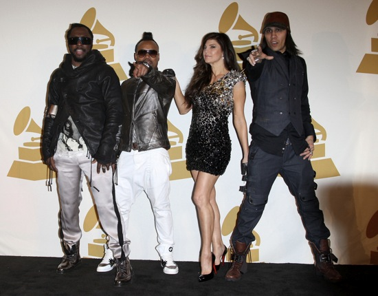 Black Eyed Peas // 2010 Grammy Music Awards Nomination Press Conference