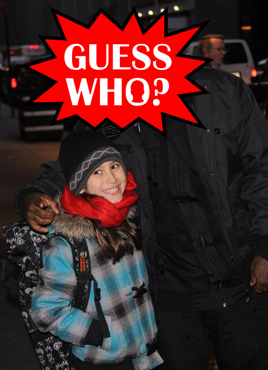 GUESS WHO?!: Rapper Taking Pics with a Fan in New York City