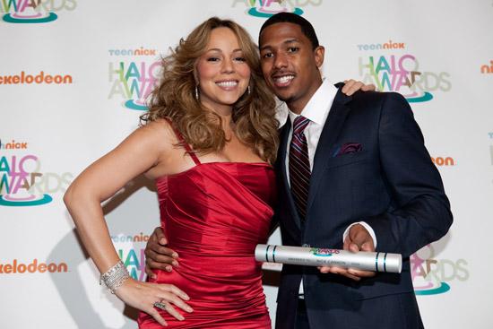 Mariah Carey & Nick Cannon // TeenNick HALO Awards