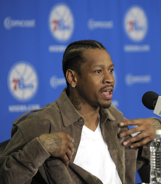 Allen Iverson // Philadelphia 76ers Press Conference