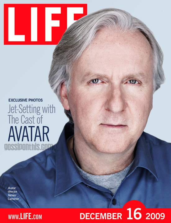 "Director of ""Avatar"" James Cameron // December 16th cover of LIFE Magazine"