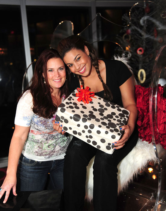 Jordin Sparks And Her Mother Jodi Edens Roc In Miami
