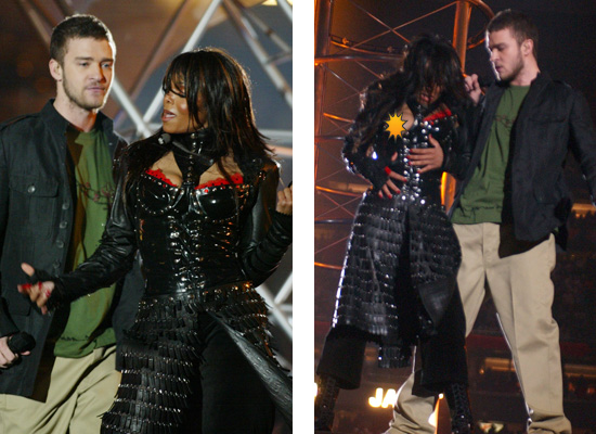 Janet Jackson & Justin Timberlake at the Super Bowl