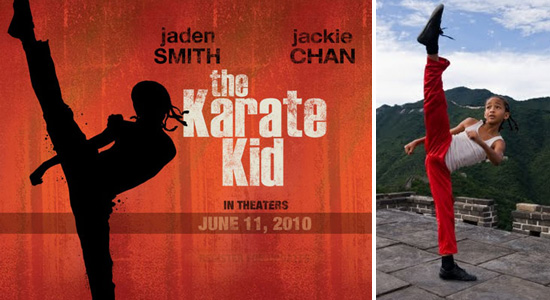 """MOVIE TRAILER: """"The Karate Kid"""" Starring Jackie Chan and Jaden Smith! -- click to watch"""