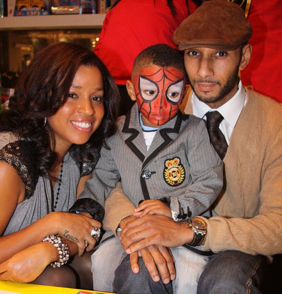 Swizz Beatz and Mashonda's son Kasseem's 3rd birthday party in New York City
