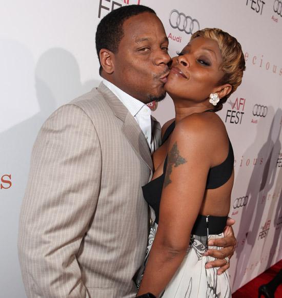 Mary J. Blige and her husband Kendu Isaacs