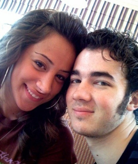 Kevin Jonas and his wife Danielle