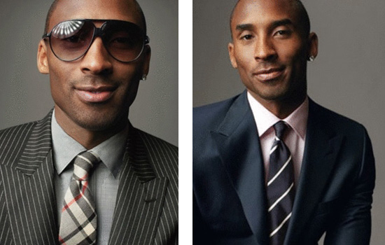 Los Angeles Laker Kobe Bryant has a fashion spread in the new issue of GQ