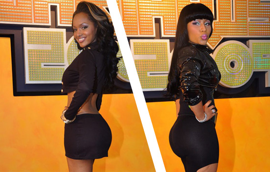 nicki minaj booty before and after. Nicki Minaj – Lola Calls Nicki