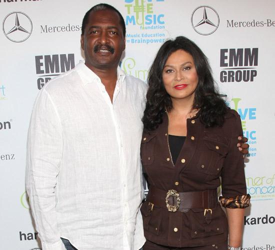 Mathew and Tina Knowles