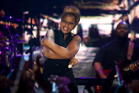 """Mary J. Blige // BET's """"Words & Music"""" Concert Series"""