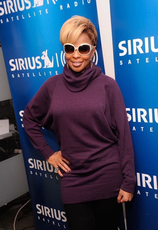 Mary J. Blige // Sirius XM Studios