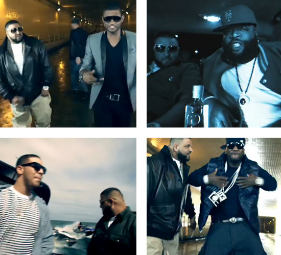 "MUSIC VIDEO: DJ Khaled F/ Usher, Young Jeezy, Drake & Rick Ross - ""Fed Up"" -- click to watch!"