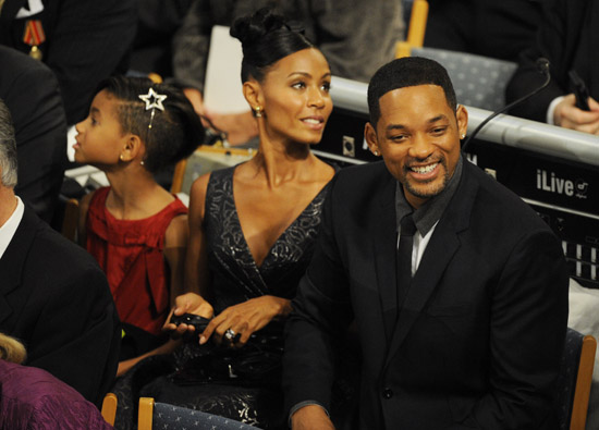 Will Smith and Jada Pinkett Smith // Nobel Peace Prize Press Conference in Norway