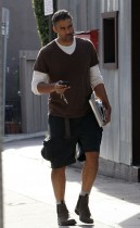 Rick Fox out and about in Los Angeles, California - December 1st 2009
