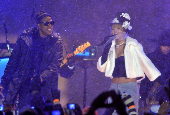 "Jay-Z and Rihanna // ""NBC's New Year's Eve with Carson Daly"" TV Special"