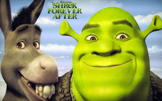 Here we go, another Shrek! Not that there was anything wrong with the first