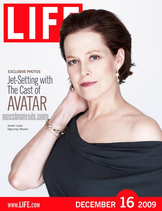 Sigourney Weaver // December 16th cover of LIFE Magazine