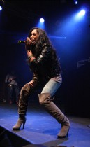 Melanie Fiona // Power Live at the Highline Ballroom in New York City