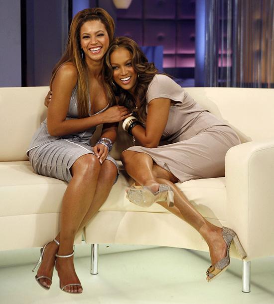 Tyra Banks & Beyonce