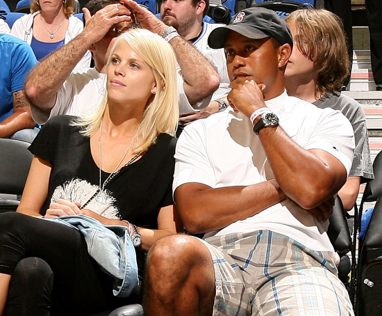 tiger woods wife. Tiger Woods amp; his wife Elin