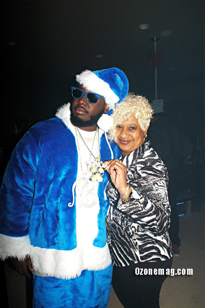 T Pain And His Wife Amber Throw Christmas Party At Their