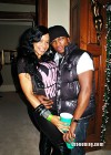 Ne-Yo and his new girlfriend // T-Pain's Christmas Party at the Nappy Boy Mansion in Atlanta