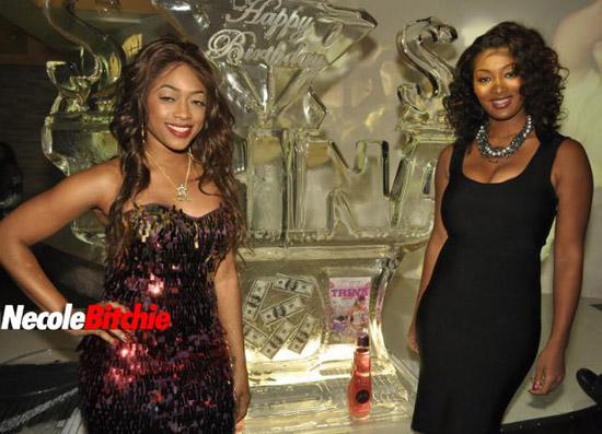 Trina and Toccara // Trina's Birthday Party in Miami
