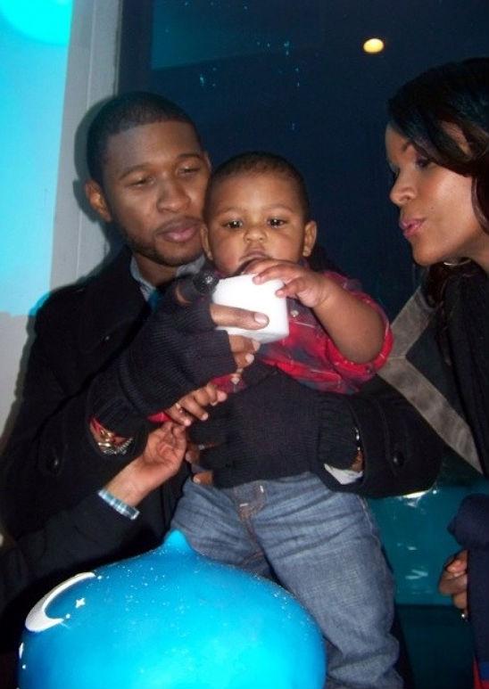 Usher Raymond and Tameka Foster's son Naviyd's 1st Birthday Party in Atlanta