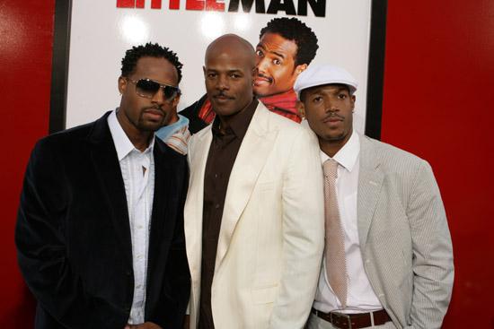 Shawn, Keenen and Marlon Wayans