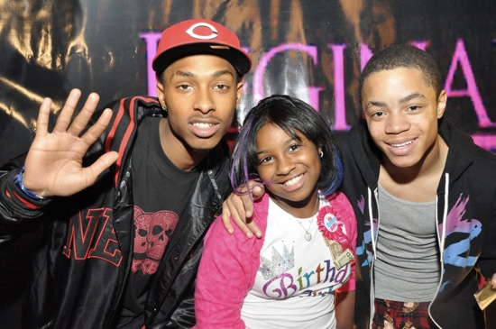 New Boyz // Regine Carter's (Lil Wayne and Toya's daughter) 11th Birthday Party in Atlanta