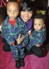 Monica and her sons Lil Rocko and Romelo // Regine Carter's (Lil Wayne and Toya's daughter) 11th Birthday Party in Atlanta