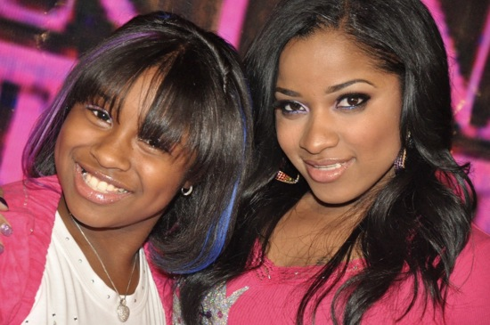 Reginae and her mom Toya // Regine Carter's (Lil Wayne and Toya's daughter) 11th Birthday Party in Atlanta