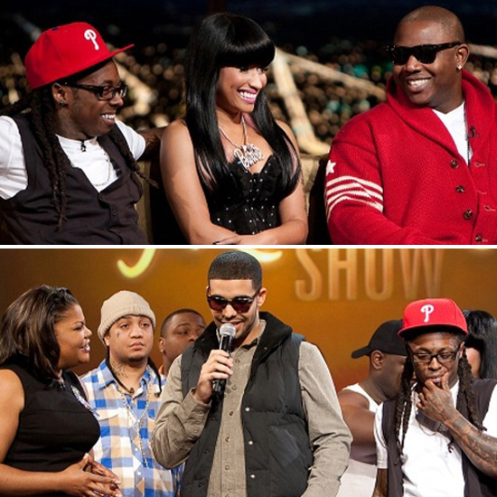 VIDEO: The Entire Young Money Crew (Lil Wayne, Drake, Nicki Minaj, Mack Maine and More) Visit the Mo'Nique Show -- click to watch!