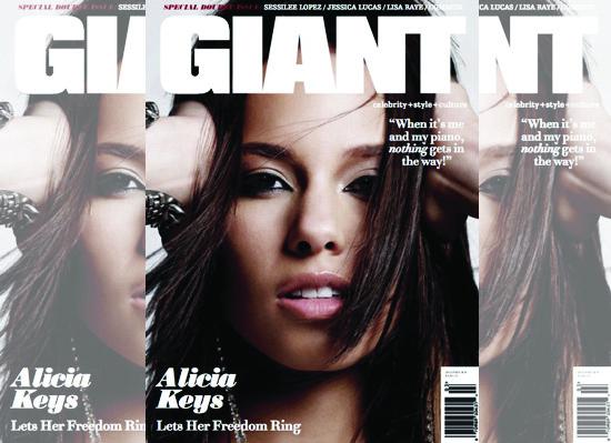 Alicia Keys Covers Jan... Alicia Keys