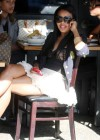 Angela Simmons out eating lunch at Toast in Toluka Lake, CA – January 14th 2010