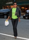 Natalie Cole leaving Judi's Del in Bevelry Hills – January 11th 2010