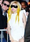 Lady Gaga outside Radio City Music Hall in New York City – January 21st 2010