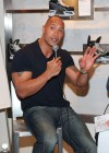 "Dwayne ""The Rock"" Johnson promoting his new movie ""Tooth Fairy"" at the NHL Powered Reebok Store in New York City"