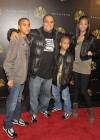 Irv Gotti & his kids // Justin Dior Combs' Sweet 16