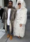 Kanye West & Amber Rose // Louis Vuitton Autumn/Winter 2010 Fashion Show at Le 104 for Paris Menswear Fashion Week