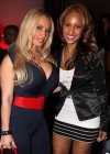 Ice T's wife Coco and former G-Unit member Olivia // Strength Through Unity Haitian Benefit Relief Event in New York