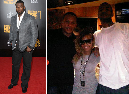 ashanti and 50 cent dating